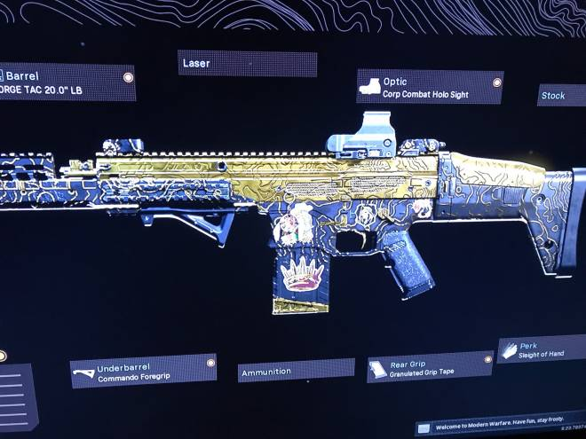 Call of Duty: Event - Scar because nice damage and no recoil. Ax50 because im used to it image 2