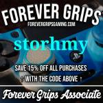 Use code storhmy for %15 off  forevergripsgaming.com