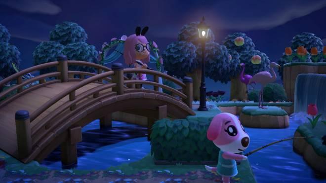 Animal Crossing: Posts - Night fishing image 2