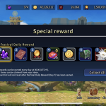 Bug - 1st Festival Daily Rewards Appeared???