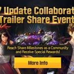 [Event] 4.7 Update Collaboration Trailer Share Event (9/7 ~ 9/31 CDT)