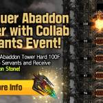 [Event] Conquer Abaddon Tower with Collab Servants Event (9/7 ~ 9/30 CDT)