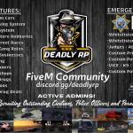 DeadlyRP recruiting more RolePlayers!!