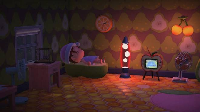 Animal Crossing: Posts - Last one I promise! 🥺😅 IRL I love sleeping with my Tv on or a night light  image 3