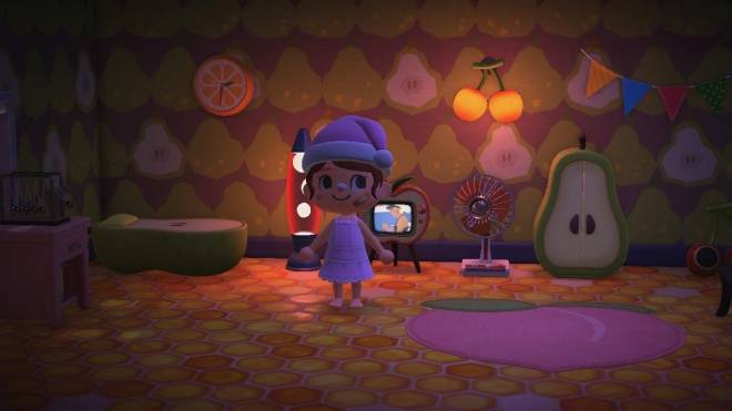 Animal Crossing: Posts - Last one I promise! 🥺😅 IRL I love sleeping with my Tv on or a night light  image 2