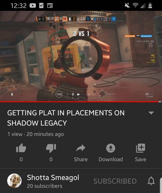 Rainbow Six: General - New video out! Click the link to my channel on my profile description! image 1