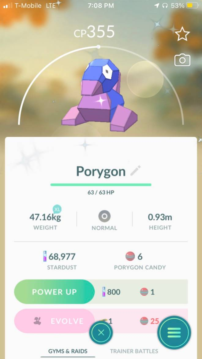 Pokemon: General - Willing to trade shiny porygon. DM for offers. image 1