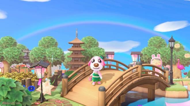 Animal Crossing: Posts - Double rainbow😊✨🌈 image 2