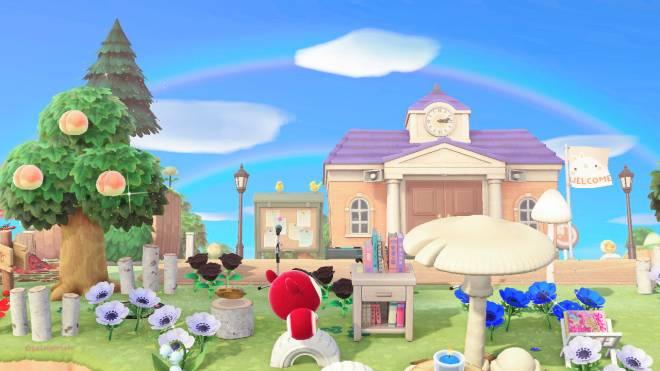 Animal Crossing: Posts - Double rainbow😊✨🌈 image 1