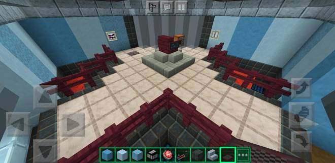 Minecraft: General - Among Us Weapons room is done now as well. image 2