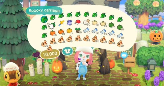 Animal Crossing: Posts - Spooky items image 1