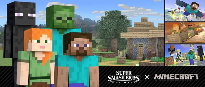 Moot: News Picks - The Daily Moot: Super Smash Bros. Minecraft image 2