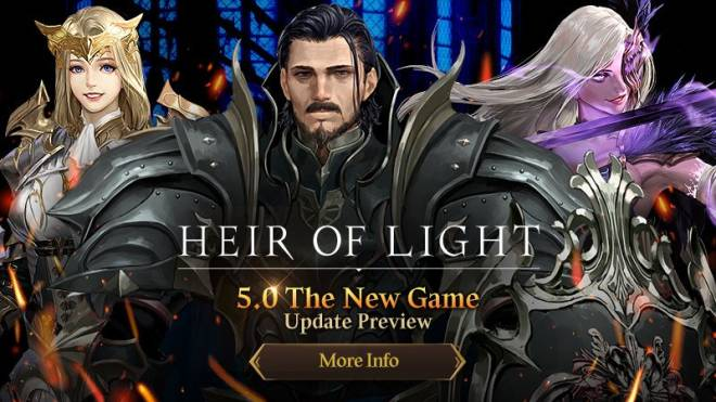 HEIR OF LIGHT: Update Preview & Patch Notes - [Notice] 5.0 Update Preview image 1