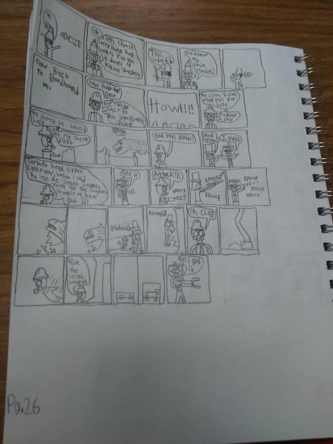 Entertainment: Art - Glitchverse S1 full chapter 8 image 4