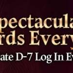 [Event] Update D-7 Login Event (10/6 ~ 10/12 CDT)