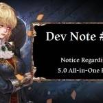 Dev Note #134: Notice Regarding 5.0 All-in-One Pack