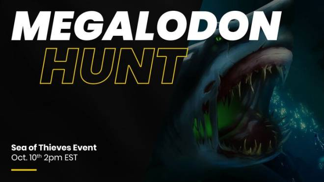 Sea of Thieves: General - Megalodon Hunt Event! image 1