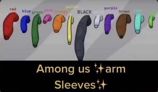 Among Us: Posts - the big black arm sleeve 🤤  image 1