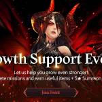 [Event] Growth Support Event (10/13 ~ 11/16 CDT)