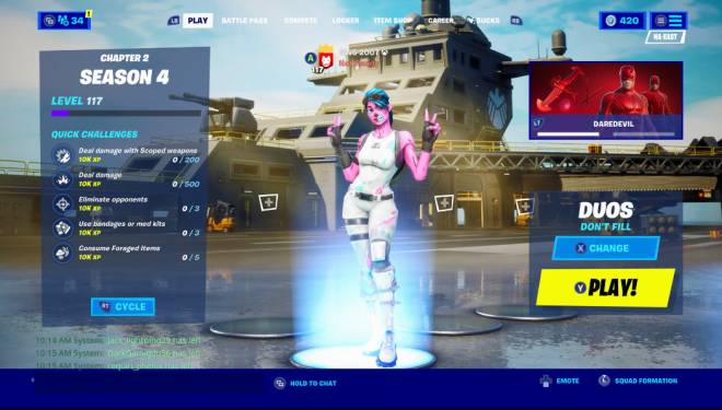 Fortnite: General - Ahhh yes. The power of Mystique image 1