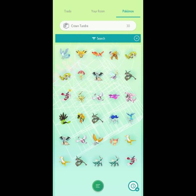 Pokemon: General - Dozens of shiny legends and more available for trade with Crown Tundra's release in 12 hours. image 2