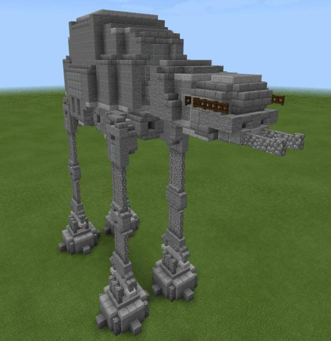 Minecraft: General - Here's a Star Wars build I made image 1