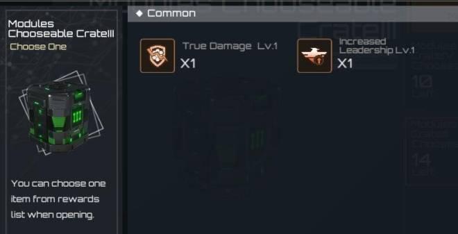 Nova Empire: notice - Modules Chooseable Crate details image 1