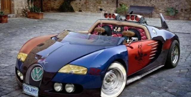 """GTA: General - Basically how people customize cars in gta now and call it """"fire"""" image 1"""