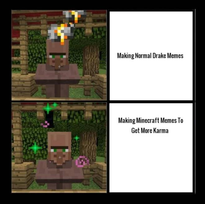 Minecraft: General - Just a meme image 2