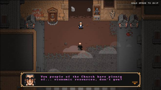 Indie Games: General - First Impressions: The Textorcist: The Story of Ray Bibbia image 4