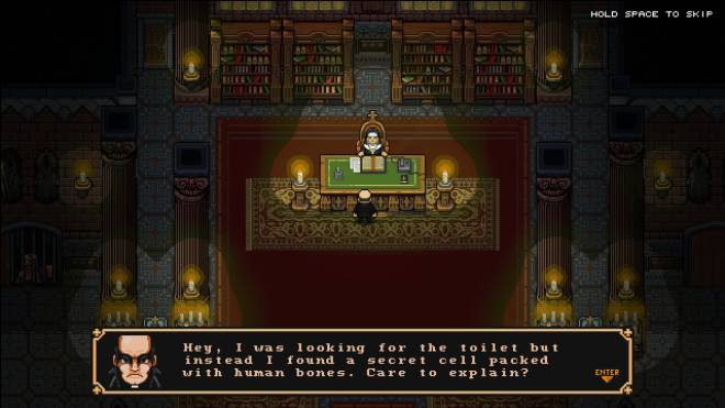 Indie Games: General - First Impressions: The Textorcist: The Story of Ray Bibbia image 10