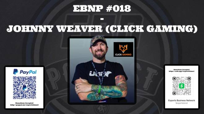 Off Topic: General - EBNP #018 - JOHNNY WEAVER (CLICK GAMING) 11/23/20 @ 6 AM CST image 1