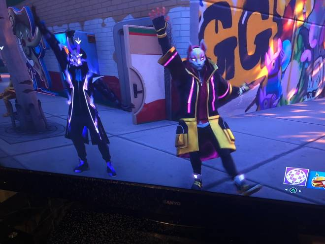 Fortnite: General - Me and Fade are friends now image 1