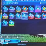 Trading Blueprint on rocket league on the nintendo switch?