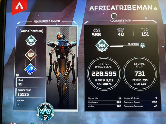 Apex Legends: Looking for Group - Need two for ranked im plat 4, gold 2-plat 4 image 3