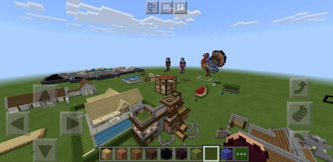 Minecraft: General - Happy Thanksgiving, how many likes for my giant turkey?  image 3