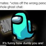 Then the chat goes wild