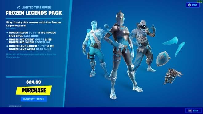 Fortnite: Battle Royale - Frozen Legends Pack! 😮 image 2