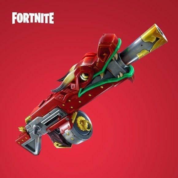 Fortnite: General - The 'Dragon' shotgun will release in Season 5 image 2