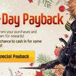 [Event] December Payback Event (12/1 ~ 12/31 CST)