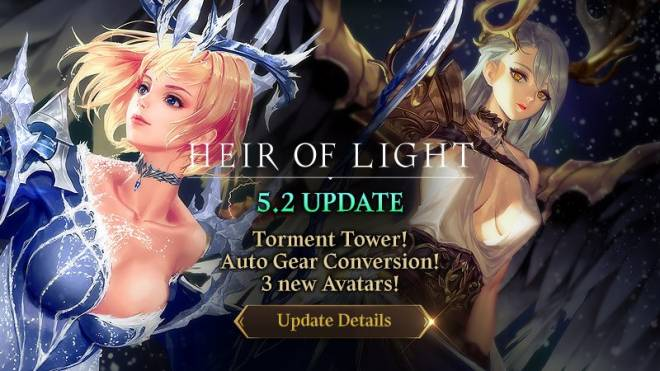 HEIR OF LIGHT: Update Preview & Patch Notes - [Notice] 5.2 Update Patch Note image 1