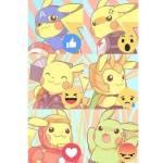 Comment Your Favorite Pikachu Pose