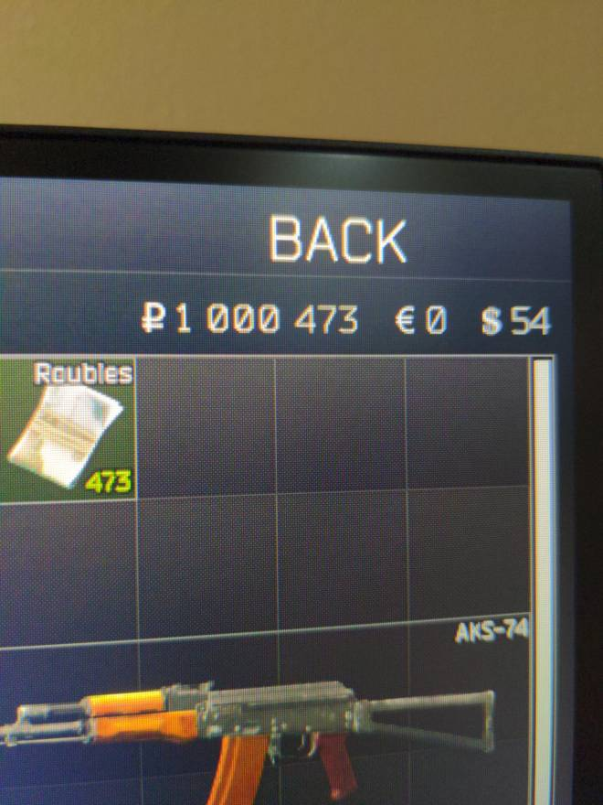 Escape From Tarkov: General - I hit a million roubles !! image 2