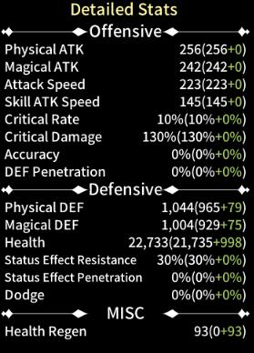 Taming Master: General - Show Regen Speed 2nd Request image 2