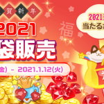 【イベント】2021年福袋販売のお知らせ