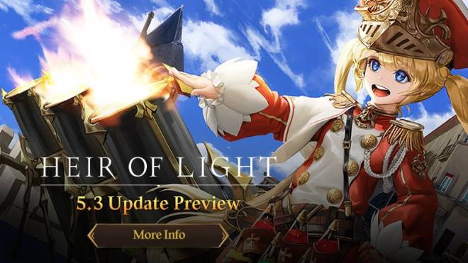 HEIR OF LIGHT: Update Preview & Patch Notes - [Notice] 5.3 Update Preview image 1