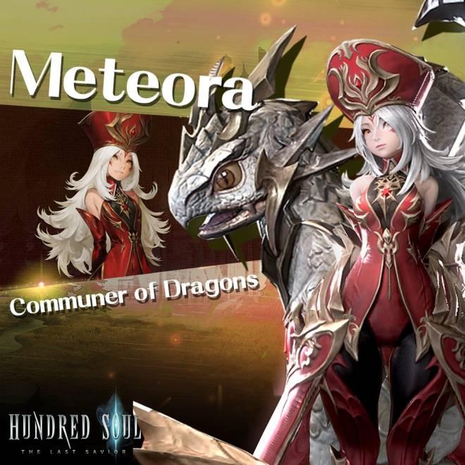 Hundred Soul : The Last Savior: event - [New Companion] Communer of Dragons – Meteora image 1