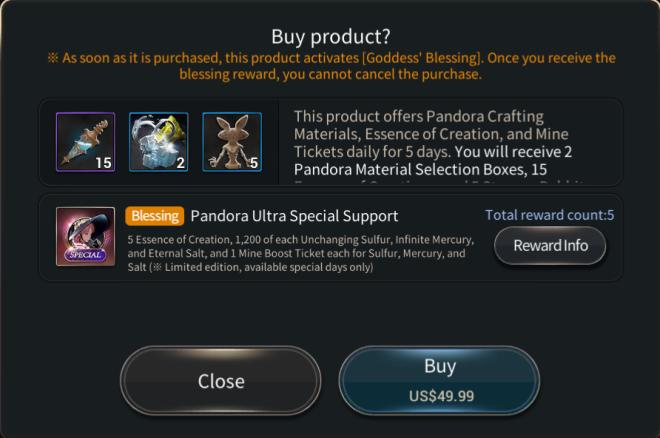Hundred Soul : The Last Savior: event - [Event Notice] Pandora Hot Time image 7