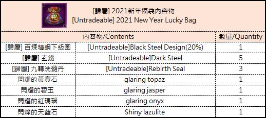 十二之天M: 活動 - 0112 2021年新年活動 image 4