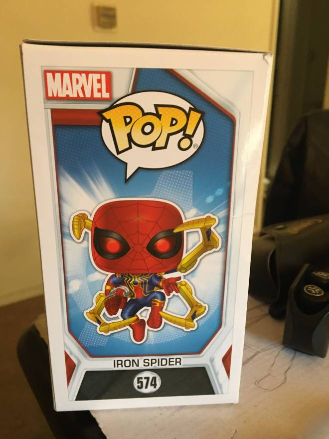 Off Topic: General - New pop figures #1 (Iron Spider from Avengers EndGame.) image 4